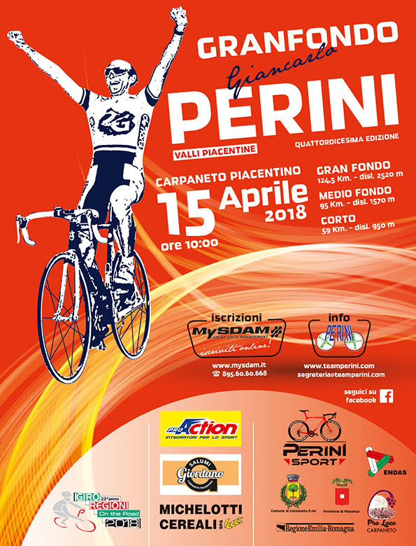 Granfondo Giancarlo Perini - Valli Piacentine 2018